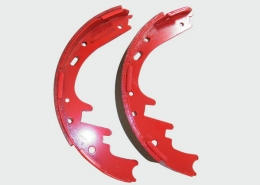 1249530 DAF truck parts top quality ceramic brake shoes parts