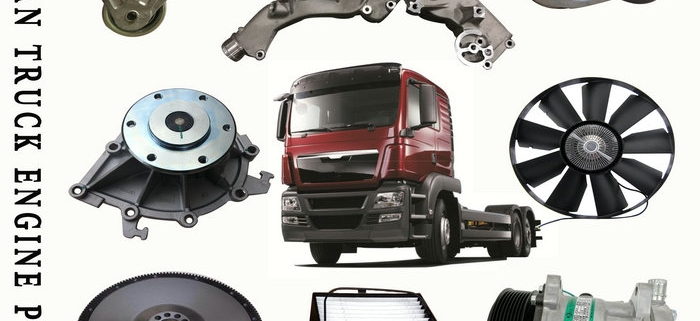 Man truck engine spare parts hot selling