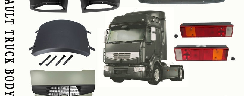 Renault truck body spare parts hot selling