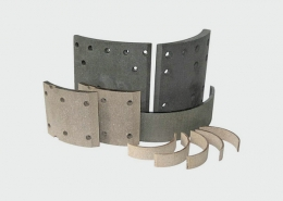 Volvo B10 Truck spare parts front Brake lining