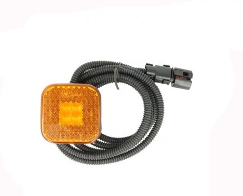 MAN TGS TGX TGA Truck High Quality LED Side Marker Lamp WIth Cable and Plug Fit 81252606104