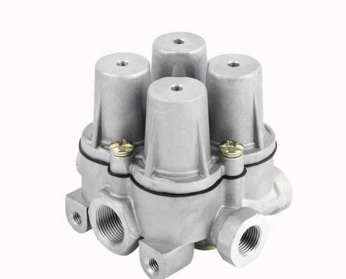 DAF Ivec SC MAN Truck Air Brake System Four Circuit Protection Valve 9347023000