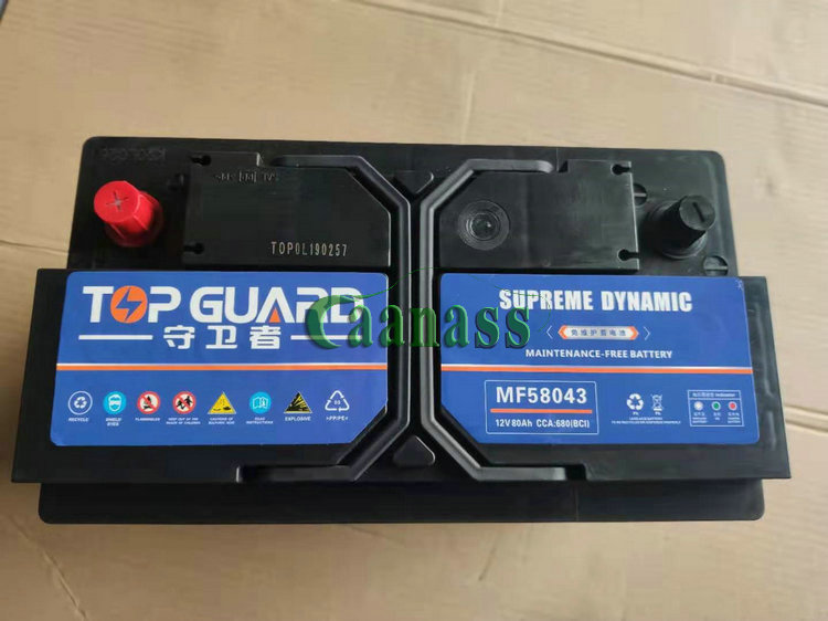 VOLVO IVECO TRUCK Battery 80AH (4)